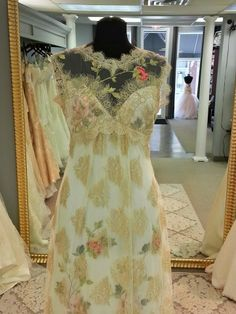 Claire Pettibone 'Heart's Desire' wedding dress at our Ohio stockist, Bridal and Formal http://www.clairepettibone.com/hearts_desire