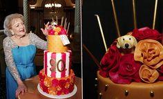Betty Whites 90th B-day Cake