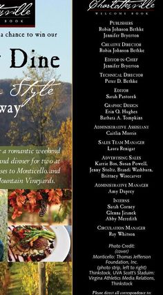 ISSUU - Charlottesville Welcome Book Fall 2015 by Ivy Publications