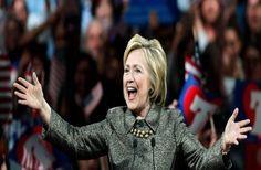 Hillary Clinton ને રચ્યો ઈતિહાસ, બની અમેરિકી રાષ્ટ્રપતિ પદની પહેલી મહિલા પ્રતિસ્પર્ધી