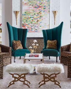 Glam Living Room, Living Room Furniture, Living Room Decor, Sofa Design, Furniture Design, Interior Design, Luxury Furniture, Decoration Chic, Design Salon