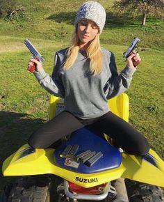 Carly Lauren Sunday Gun Day