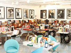 Corso Como Bookshop, Milan, Italy - the bookstore section of the larger complex dedicated to art and design certainly lives up to its mission.
