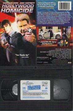 Hollywood Homicide VHS Movie with Harrison Ford and Josh Hartnett 2003
