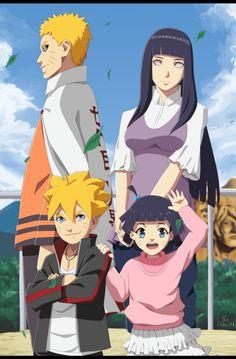 Naruto and Hinata family