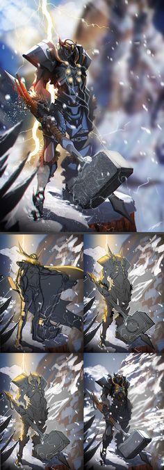 Fanart of Tekkaman an blade killing a spider crab. | Anime Buff ...