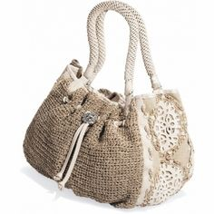 Irina Crochet Satchel available at #Brighton#WinOurHearts