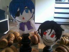 BLACK BUTLER: Ciel is not the only one with chess pieces to control