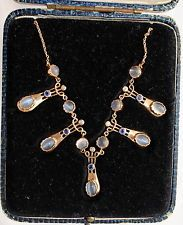 Arts and Craft/Art Nouveau Murrle Bennett 15 Carat Gold necklace