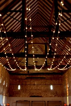 Warm white connectable festoon light canopy