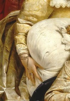 Paul Delaroche -- Death of Elizabeth, Queen of England, in 1603