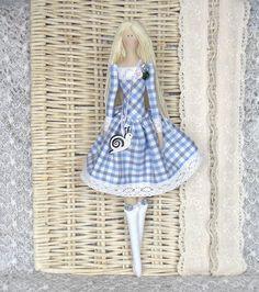 Tilda doll handmade Erika. FREE GIFT. Doll tilde. Textile