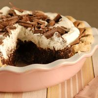 Food Photography: Mississippi Mud Pie Recipe - Home Cookbook Recipes, Pie Recipes, Dessert Recipes, Mississippi Mud Pie, Easy Bake Oven, Pbs Food, Coffee Dessert, Chocolate Shavings, Pies