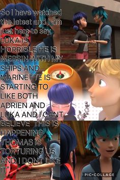 It's good to have some conflict... then we might see a jealous Adrien. I don't hate him, he's another cinnamon roll that needs to be protected.