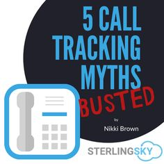 Call Tracking shows us conversions related to local marketing efforts, but there is some misinformatino out there - Nikki Brown Mythbusts the fictonal arguments around Call Tracking Seo Marketing, Online Marketing, Tracking Software, Local Seo, Business Management, Business Names, It Hurts, Australia, Brown