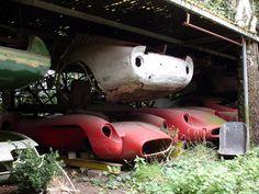 Ferrari #Abandoned #Forgotten