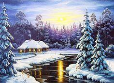 Морозный день - Схемы вышивки - Miss_Ikss - Авторы - Портал «Вышивка крестом»
