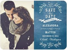 Save the Date with text overlay could mix this with date on shoes