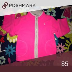 Carter's little girl's zipper sweater Carter's little girl's zipper sweater - size 18 months - pink with grey lining - size 18 months and in great condition. God bless 💋 Carter's Jackets & Coats Blazers
