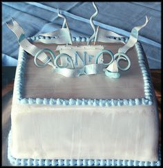 Boys Christening Cake by babushka bakery, via Flickr Lemon Cake Filling, Dedication Cake, Christening Cake Boy, Fresh Cream, Marzipan, Baby Party, Bakery, Middle, Concept