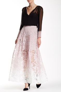 Astrid Ombre Maxi Skirt by Stella & Jamie on @HauteLook