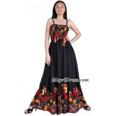 maxi dress vintage style plus