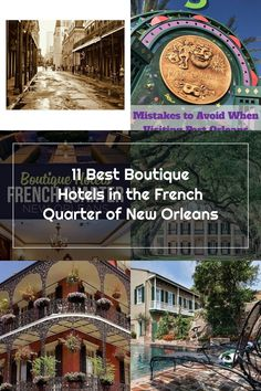 11 Best Boutique Hotels in the French Quarter of New Orleans Best Boutique Hotels, French Quarter, New Orleans