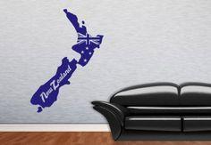 Muurstickers - Nieuw Zeeland