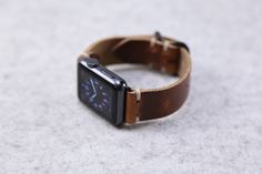 Apple Watch Band Kit: Horween Leather English Tan by choicecuts