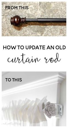 Turn an old curtain