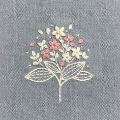 Embroidery And Screen Printing between Simple Embroidery Blouse Designs Images; Simple Embroidery Designs For Tablecloth above Simple Embroidery Flower Patterns Embroidery Hoop Crafts, Hand Embroidery Flowers, Simple Embroidery, Embroidery Supplies, Hand Embroidery Stitches, Silk Ribbon Embroidery, Crewel Embroidery, Hand Embroidery Designs, Machine Embroidery