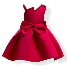 Bow Princess Dress For Girls Baby Girls Clothes 2018 Elegant Ball Gown Girl Princess Dress For Eveving Party Christmas Dresses, Ropa de niña, Wedding Dresses For Kids, Girls Party Dress, Toddler Girl Dresses, Baby Dress, Party Dresses, Girls Dresses, Dress Girl, Dress Party, Party Wear