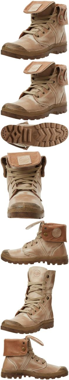 Palladium Women's Pallabrouse Baggy Leather Boot,Khaki,8 M US, Roll up your boots and turn down your collar with the Palladium Pallabrouse Baggy Leather 2 casual boot. The quick-change artistry of this women's boot includes a waxy full grain leather upper with br..., #Apparel, #Boots, $115.99