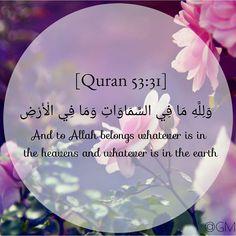 Quran 53:31