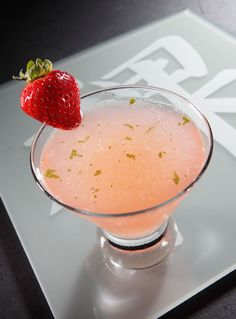Shiso Naughty at RA Sushi - we'll turn you on with this one; an exotic blend of Skyy Pineapple vodka & X-Rated liqueur with fresh flavors of yuzu & Japanese shiso