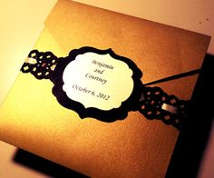 Brides: Elegant Wedding Invitations You Won't Believe are DIY