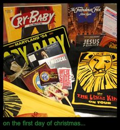 Our Giveaway begins today! The first day's gifts include WICKED tickets & more! Christmas Giveaways, 12 Days Of Christmas, One Day, Missouri, The One, Stuff To Do, Musicals, Fox