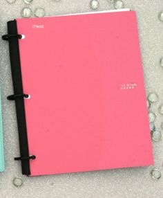 """Flex Notebook $5 : Five Star has a new notebook line called """"Flex."""" It is basically a 3 ring binder, but with flexible rings and a cover that folds back on itself. They come in a variety of colors and only cost about $5-7 depending on the version. I think this is a great potential planner cover."""