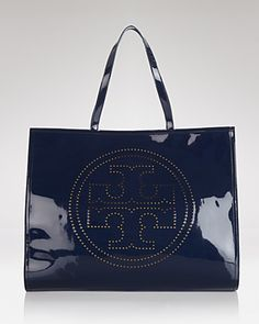 Tory Burch Tote - Perforated Logo Large