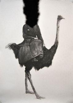 Graphite on paper,2013, 100x150 cm  Yorgos Papafigos