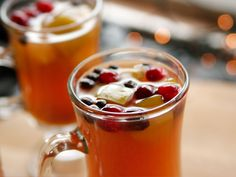 Mulled Apple Cider recipe from Ree Drummond via Food Network with apple brandy