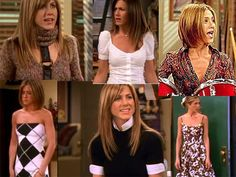 Jennifer Aniston's character Rachel Green on friends. I always loved her clothes!