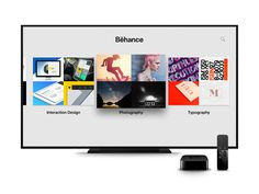 Behance for the new Apple TV is now available. Go check it out!