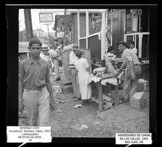 1903 Vendiendo carne en la calle, San Juan