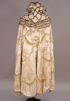 Evening cape, possibly Doucet, late-19th century From Doyle New York