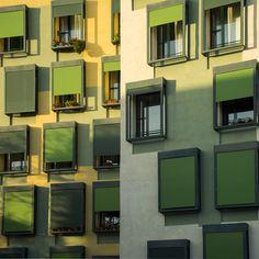 Architecture in Nou Barris, Barcelona