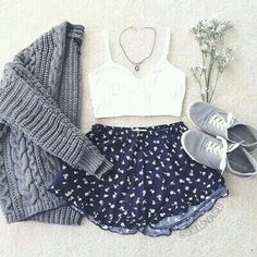 clothes, crop tops, cute, fashion, look, outfit, style