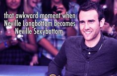 There will never be too many pins about how Neville is the hottest!