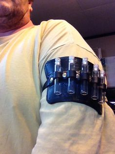 Steampunk apothecary armband / bracer pic 2
