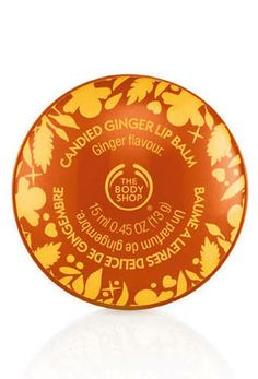 Candied Ginger Lip Balm (The Body Shop) Never used (you can tell, since there are no prints on the wax). Selling since I bought like 5! $2